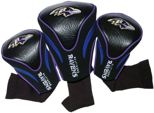 nfl-baltimore-ravens-3-pack-contour-fit-headcover
