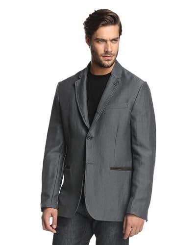John Varvatos Collection Men's Convertible Notch Lapel Jacket