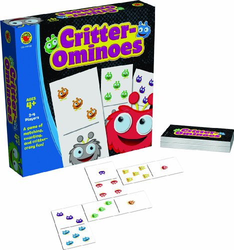 Critter-Ominoes Educational Board Game - 1