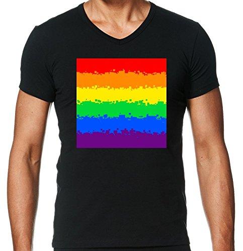 v-ausschnitt-schwarz-herren-t-shirt-grosse-s-homosexuell-stolz-fahnen-8-bit-by-cadellin