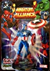 "Marvel Miniature Alliance 2.75"" PVC Figurine – Captain America (Individually packaged on…"