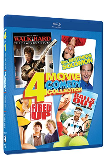 Walk Hard, Brothers Solomon, Fired Up, Balls Out - BD 4 Pack [Blu-ray]