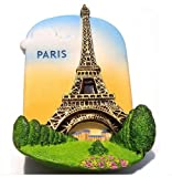Eiffel Tower Paris France EuropeMagnet Souvenir Thailand Handmade Design