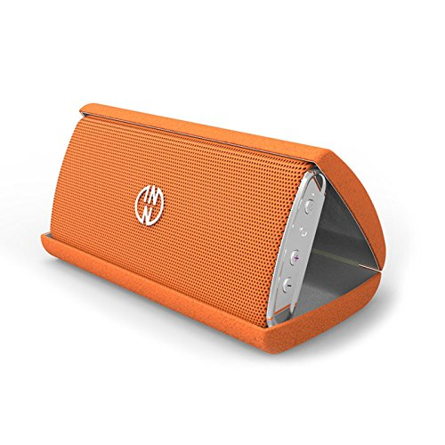 InnoDevice InnoFLASK, haut-parleur Bluetooth portable avec batterie, Orange