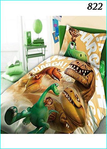 Le-Voyage-Dinosaure-Arlo-parure-100-Coton-linge-de-lit-rversible-housse-de-couette-160x200-Taie-doreiller-70x80-The-Good-Dinosaur