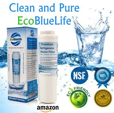 EcoBlueLife Water Filter, Compatible with Maytag UKF8001, Whirlpool ...