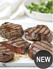 4 Aberdeen Angus Thin Cut Fillet Steaks