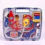 EQLEF® Juego de rompecabezas de los niños conjunto de juguete de simulación de caja de la medicina del doctor Playsets emulación Botiquín Chicos y chicas regalos