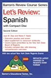 img - for Let's Review Spanish: with Compact Disc (Barron's Review Course) book / textbook / text book