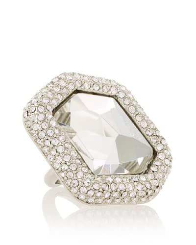 Kenneth Jay Lane Pavé Crystal Center Ring As You See