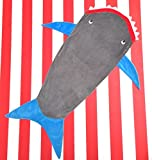Shark Sleeping Bag Blankie - Super Soft and Comfy - For Teen or Adults