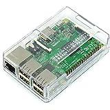 Raspberry Pi Model B+ / Pi2用ケースセット(GPIO Open型-Clear)