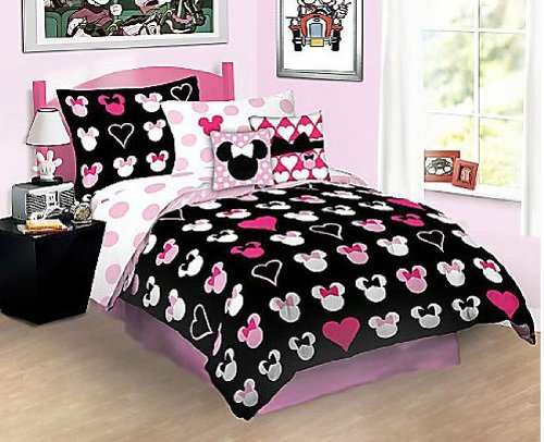 Full size minnie mouse bedding sets - Mini mouse bedroom ...