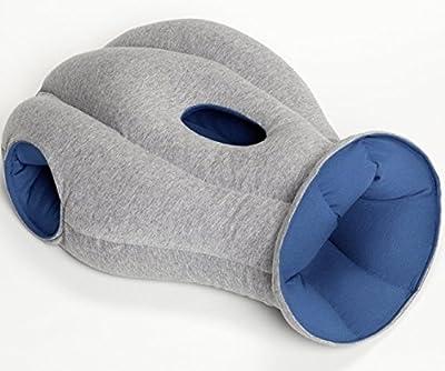 Kopfkissen der besonderen Art Einschlafhilfe - Schlafen überall und jederzeit möglich, Kissen im Alien Design , Gadget Reisekissen
