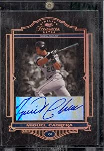 04 Donruss Timeless Treasures Miguel Caberera Auto /24