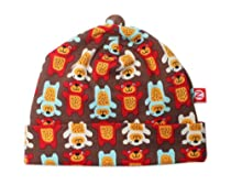 Zutano Baby-Boys Infant Little Bear Hat, Chocolate, 6 Months