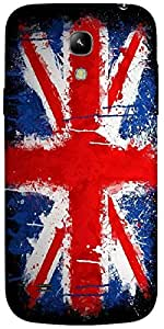 Timpax Protective Hard Back Case Cover With Easy access to all ports Printed Design : Flag of England.Exactly Design For : Samsung I9190 Galaxy S4 mini
