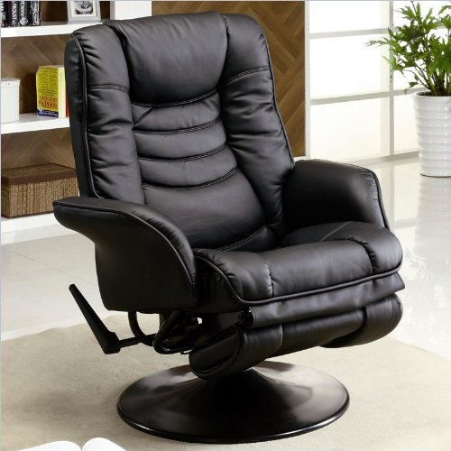 Coaster Home Furnishings 600229 Casual Glider, Black front-910780