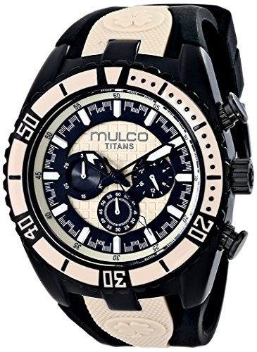 MULCO MW5-1836-115 UNISEX BLACK LEATHER CASE RRP £168 WATCH