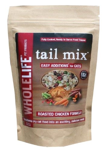 Whole Life Pet Products Tail Mix Easy Additions For Cats, 5-Ounce