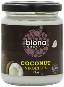 Biona Organic Raw Virgin Coconut Oil 200 g (Pack of 3)