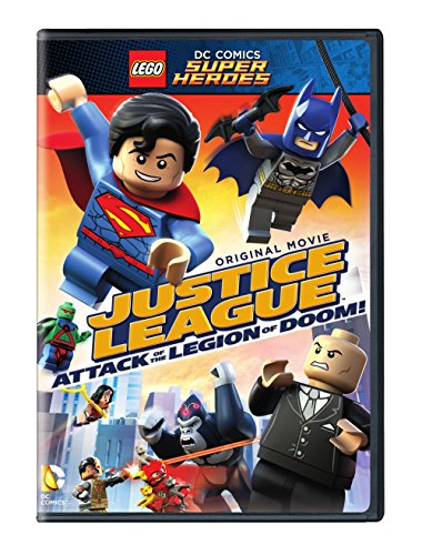 Lego Dc Super Heroes: Justice League - Attack of [Reino Unido] [DVD]