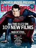 Entertainment Weekly (April 2013) #1255 - Man of Steel - Superman; Henry Cavill