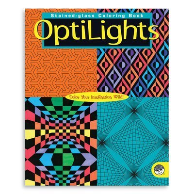 OpticaLights Coloring Book