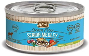 Merrick 3.2 oz Classic Senior Medley Canned Dog Food, 24 count case