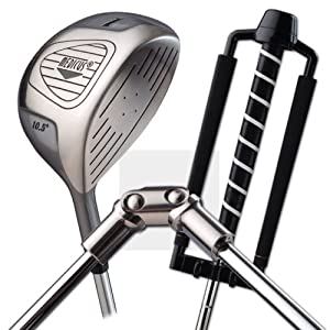 Medicus Dual Hinge 260cc Driver Left Handed with Free Putter Trainer by Medicus