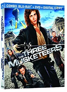 The Three Musketeers [Blu-ray + DVD+ Digital Copy] (Bilingual)