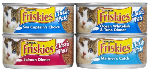 Friskies Seafood Variety Pack 32/5.5 OZ