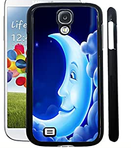 ColourCraft Funny Moon Design Back Case Cover for SAMSUNG GALAXY S4 I9500 / I9505