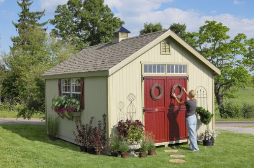 10 x 10 Williamsburg Colonial Garden Shed Panelized Kit
