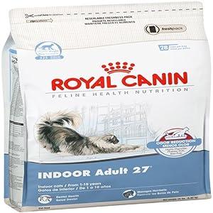Royal Canin Dry Cat Food, Indoor Adult 27 Formula, 15-Pound Bag