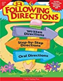 img - for Following Directions, Gr. 3-4 book / textbook / text book
