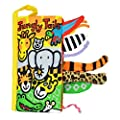 Amison Animal Tails Cloth book Baby Toy Cloth Development Books Learning & Education books Pattern 4
