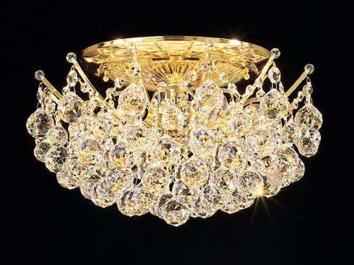 Schonbek Worldwide 4826-49S 12 Light Contessa Semi Flush Ceiling