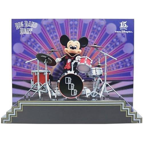미키마우스 빅 밴드 비트 피규어 ring 드럼 BIG BAND BEAT [도쿄 디즈니 C 한정]-