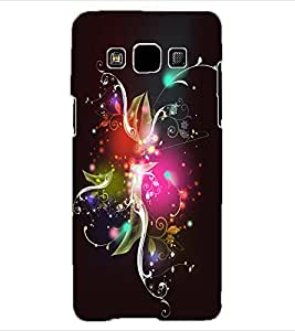 ColourCraft Abstract Image Design Back Case Cover for SAMSUNG GALAXY A3