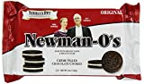 Newmans Own Organics Newman-Os, Crème Filled Chocolate Cookies, 8-Ounce Packages (Pack of 6)