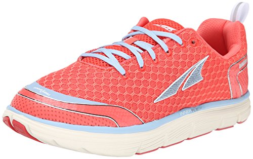 Altra Running Womens Intuition 3 Running Shoe, Coral/Blue, 6 M US