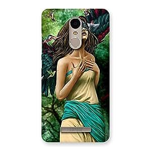 Stylish True Angel Multicolor Back Case Cover for Xiaomi Redmi Note 3