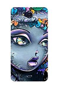 ZAPCASE PRINTED BACK COVER FOR MICROMAX CANVAS PLAY Q355 Multicolor