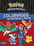 Pokémon - Coloriages et autocollants...