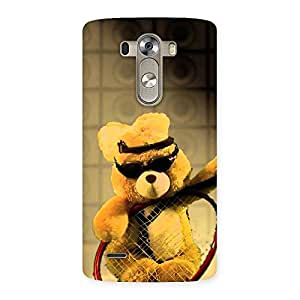 Delighted Teddy Racket Back Case Cover for LG G3