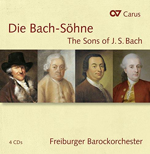 Die Bach-Sohne - The Sons of J. S. Bach (Johann Christoph Friedrich Bach compare prices)