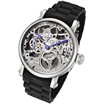 Rougois Hand Wind Mechanical Watch on a Rubber Strap RM870