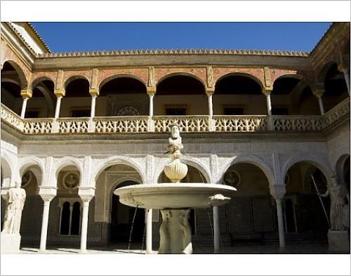 Photographic Print Of Casa De Pilatos