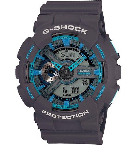 Casio G-Shock GA-110TS-8A2CR Neon Grey-Blue Men Watch